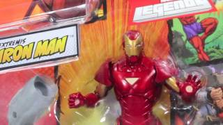Marvel Legends Extremis Iron Man Terrax Wave Action Figure Review