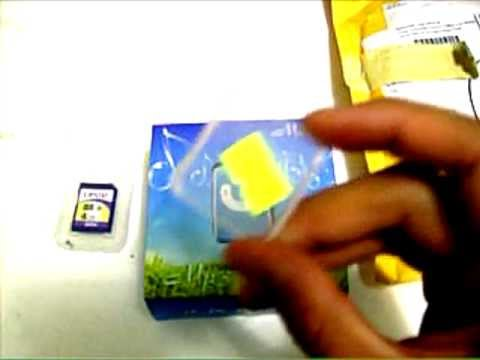 DealExtreme Unboxing Package #4 - Mp3 Player & TF/Micro SD Card 4Gb - #17