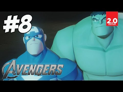 The Avengers - Part 8 (Chilling Chase, Keeping it Loki, Ice Breaker) Disney Infinity 2.0