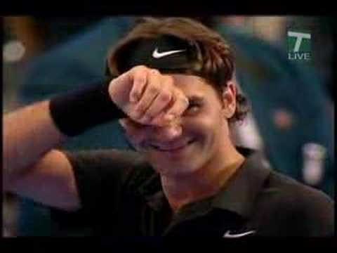 Roger Federer vs Pete Sampras MSG Highlights Video