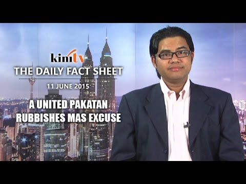 Fact Sheet - June 11: A united Pakatan rubbishes Malaysia Airlines' excuses