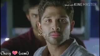 Yavadu movie alluarjun emotional seen