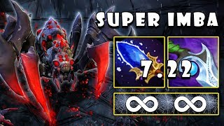 [Broodmother] The Monster Spider With New Scepter = Unlimited Web FullGame Dota 2 7.22