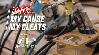 Go Behind the Scenes for the Making of the 49ers 'My Cause My Cleats'