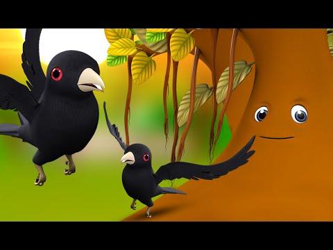 Koyal Aur Dayalu Ped 3D Animated Hindi Moral Stories for Kids аааа аа ааааа аааа аа ааааЁа Crow Tales