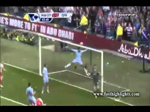 Manchester City Vs Queens Park Rangers 3-2 Highlights All Goals 13.05.2012 video