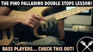 The Pino Palladino Double Stop - Bass Lesson with Scott Devine