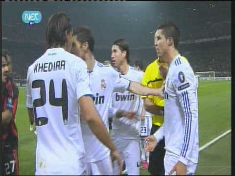 cristiano acting (again) !!