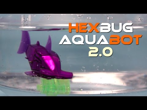HexBug Aquabot 2.0 Smart Fish Hammerhead and Angel Fish Review