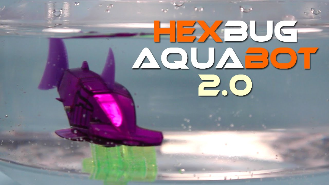 Hexbug aquabot 2 0 smart fish hammerhead and angel fish for Aquabot smart fish