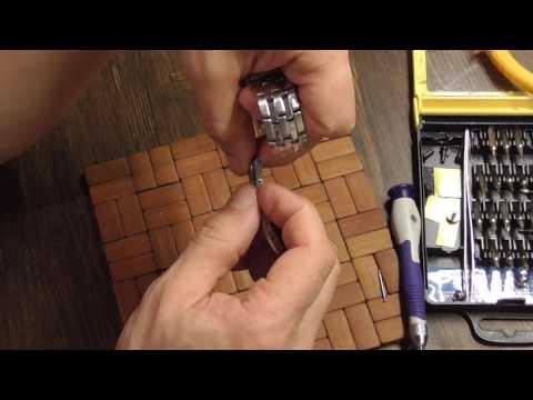 Как укоротить ремешок на наручных часах