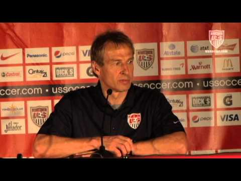 MNT vs. Jamaica: Post-Game Press Conference - Sept. 11, 2012
