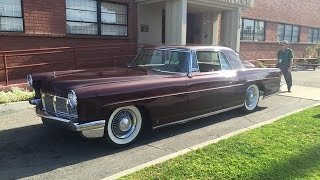 Riding In A 1956 Lincoln Continental Mark II