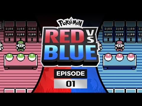 Pokemon Red and Blue Versus - EP01   Let's Dew This