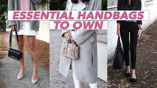 ESSENTIAL HANDBAGS EVERY WOMAN SHOULD OWN - Wardrobe Basics 101 | Mademoiselle
