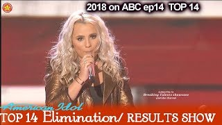 "Gabby Barrett sings ""Little Red Wagon"" Victory Song Top 10  American Idol 2018 Top 14 Results Show"