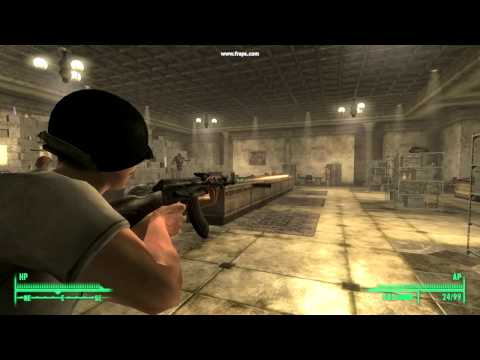 Mod it contains over 30 real world weapons http fallout3