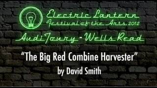 """The Big Red Combine Harvester"" by David Smith"
