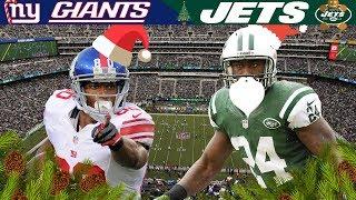 Christmas Eve for New York City Supremacy! (Giants vs. Jets, 2011) | NFL Vault Highlights