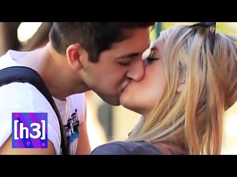 Kissing Pranks -- h3h3 reaction video