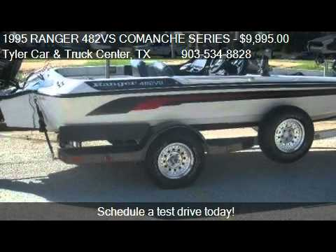1995 RANGER 482VS COMANCHE SERIES 19' BASS BOAT for sale ...