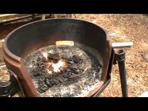 How To Build A Blacksmith Fire Pot