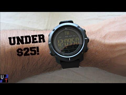 $17.99 | LEMFO LF19 Waterproof Smartwatch Unboxing & 1st Impressions!