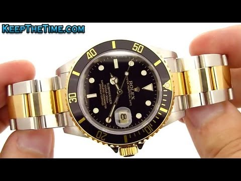 Rolex Submariner 18K Gold/Steel Two-Tone 16613-BKSO SUB