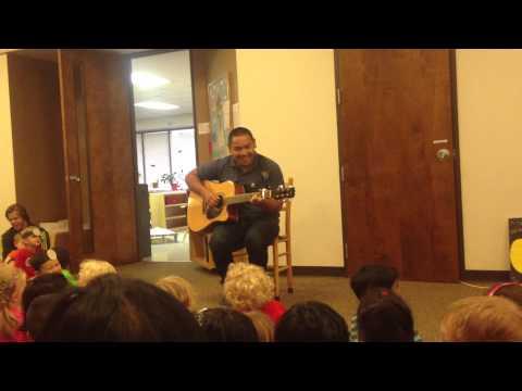 2013 06 28 Mark Eulalia sings the Hope Montessori anthem