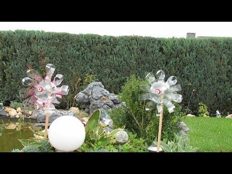 11:15 Dekoration Für Garten Selber Machen . Windrad Aus Plastikflasche .