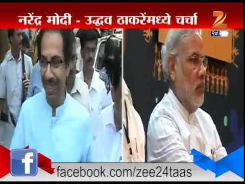 Shiv Sena Uddhav Thackeray And Prime Minister narendra Modi Talked Over Phone For 20 Minutes
