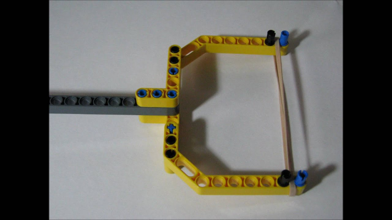 how to make a slingshot out of lego