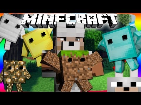 Minecraft Mods - Blokkit 1.6.4 - Living Block Mobs! Review and Installation Tutorial