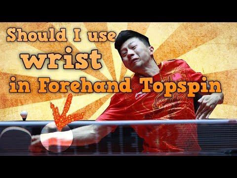 Should You Use Wrist in Forehand Topspin Table Tennis?