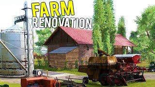FARM FLIPPER!? RENOVATING A GIANT FARM + STARTING OUR FARMING COMPANY - Farmer
