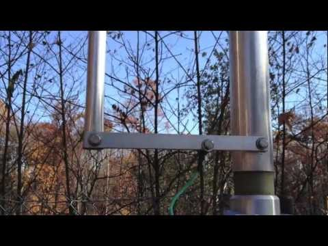 Update to Zero-Five Vertical Antenna Setup at KC9FFV's QTH