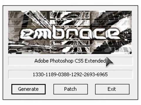 Серийный номер для photoshop cs5, скачать кейген Photoshop. бесплатные