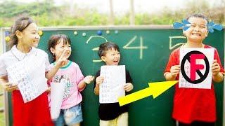 Hacona Police Teacher Go To School Learn Colors Number and Math - Classroom Funny Nursery Rhymes