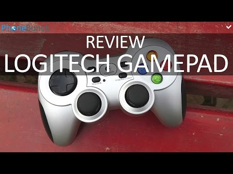Logitech F710 Wireless Gamepad Review - Game Controller for Android. Tablet and PC