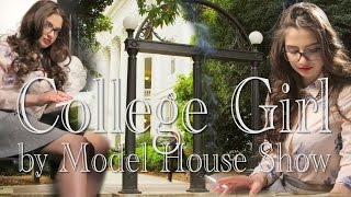 Colllege Girl Smoking Montage Video