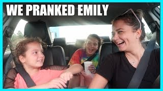 EMILY LOST HER NEW IPHONE 📱 🤫😳PRANK #334