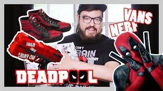 Unboxing DEADPOOL Vans VANS X MARVEL & Nerf Rival Deadpool Kronos XVIII-500