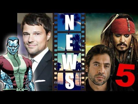 Deadpool 2016 Colossus, cast Danila Kozlovsky? Pirates of the Caribbean 5! - Beyond The Trailer