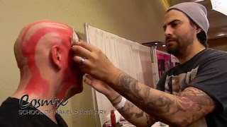 Cosmix Instructor Derek Garcia at the Orlando Makeup Show