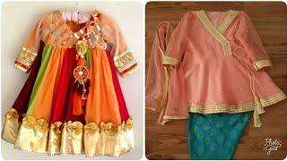 Top Beautiful Traditional 2019 EID Dress Designs for Little baby girls/WEDDING wear/fancy party wear
