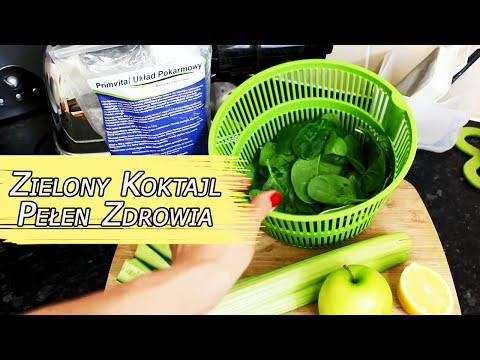 #zdrowie Od Kuchni# - Zielony Koktajl Pełen Zdrowia