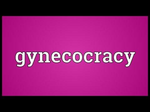 Header of gynecocracy