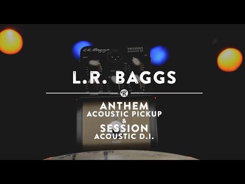 L.R. Baggs Anthem Acoustic Guitar Pickup + Session DI | Reverb Demo