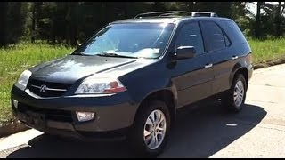 2003 Acura MDX Tour & Overview