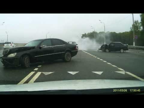 авария трасса М3 близи Малоярославца